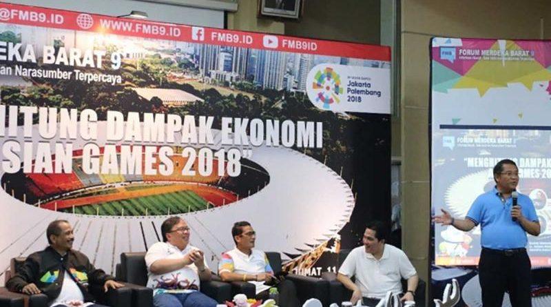 Asian Games 2018: Dongkrak Pertumbuhan Ekonomi