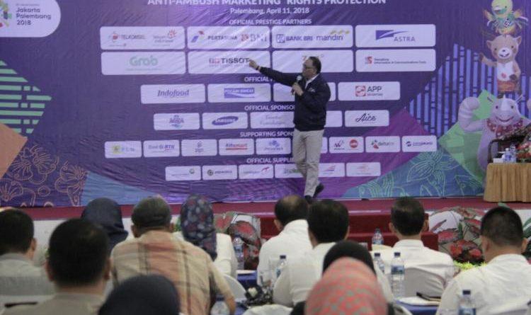 Mendulang dana Dari Sponsorship Asian Games 2018