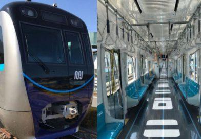 Empat Kereta MRT Tiba di Pelabuhan Tanjung Priok