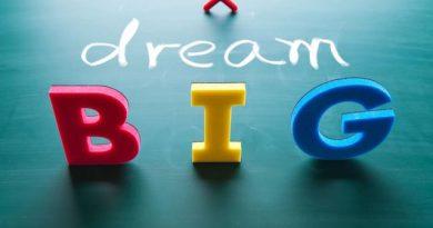 Mempunyai Mimpi besar