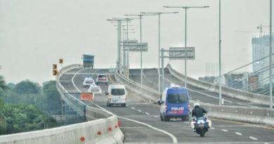 Minggu ini, Jalan Tol Layang Jakarta-Cikampek II Mulai Dibuka