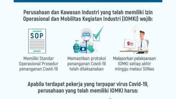 Industri Dapat  Berjalan di Tengah Pandemi Covid19