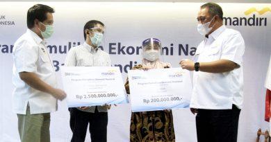 Optimalkan Dana PEN, Bank Mandiri Fokus Garap Padat Karya dan Ketahanan Pangan