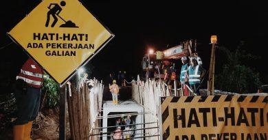 Pembangunan Jaringan Transmisi Bawah Tanah Di Makassar Terus Berlanjut