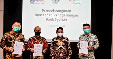 Rampung Rencana Merger 3 Bank Syariah