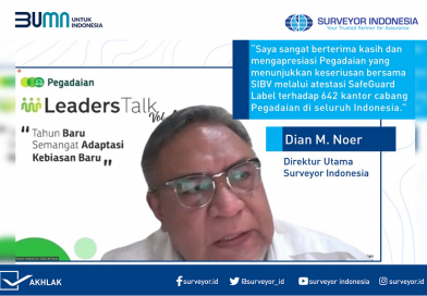 Surveyor Indonesia Audit SafeGuard di 642 Cabang Pegadaian