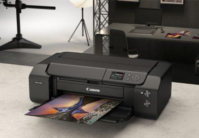 Canon ImagePROGRAF PRO-300 Tampil  dengan Sistem Tinta 10 Warna